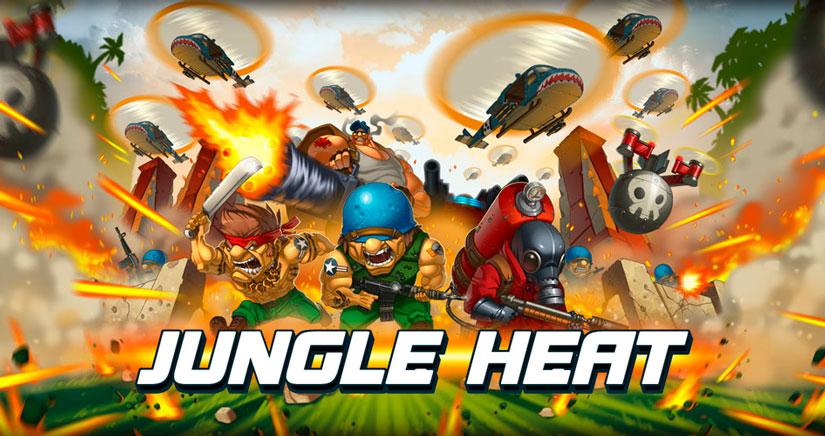 Enganchados a Jungle Heat, el Juego de batallas en la jungla a lo Rambo
