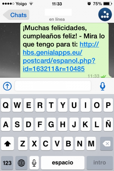 enviar whatsapp cumple feliz