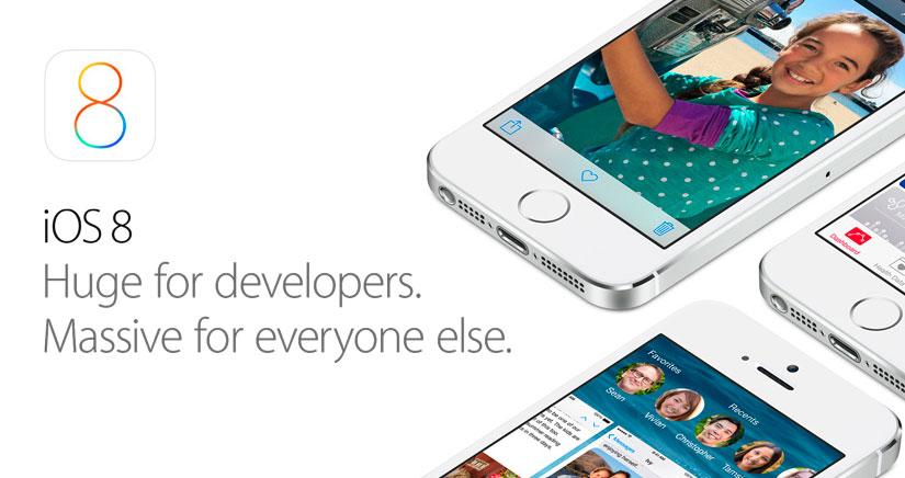 5 Grandes novedades de iOS 8 que Apple no mencionó en la Keynote