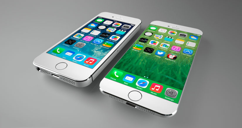 iPhone 6 de 4,7 pulgadas Vs iPhone 6 de 5,5 pulgadas según Sonny Dickson [Fotos]