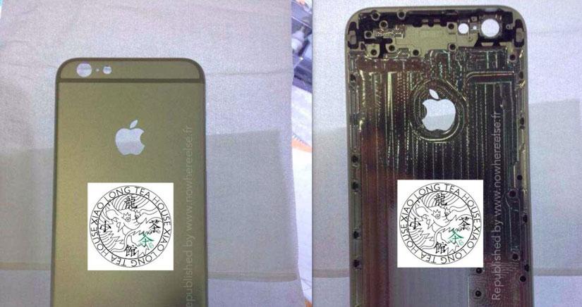 Fotos de lo que podría ser la carcasa Real del iPhone 6