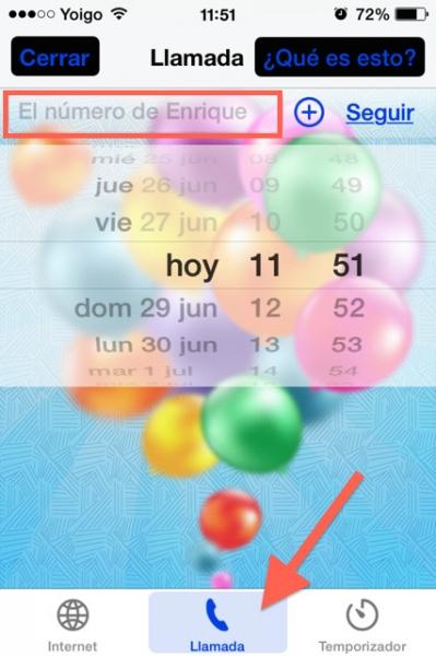 llamar cumpleaños feliz