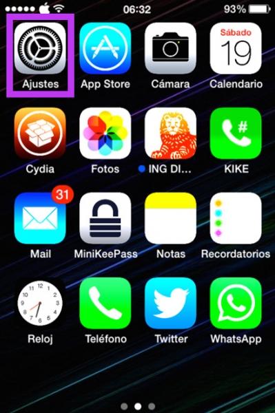 1ajustes iphone