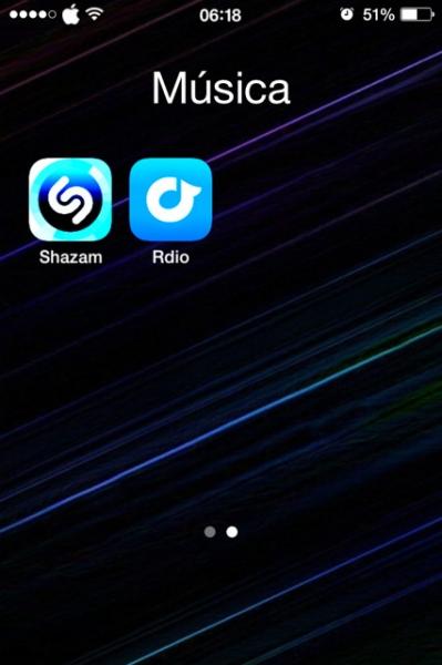 2shazam y Rdio