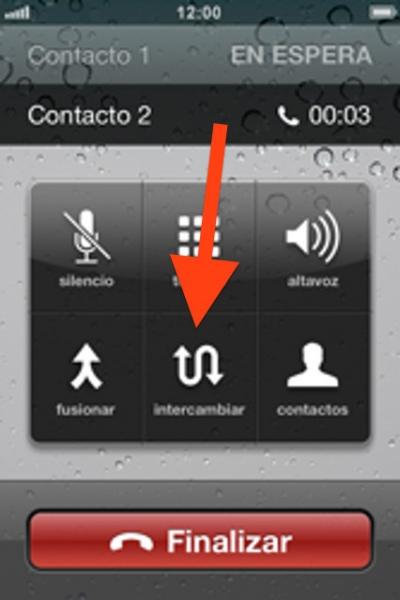 4cambiar llamada