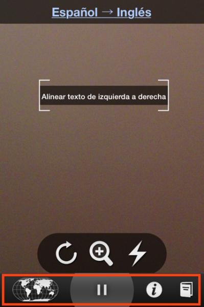 5escanea texto y opciones