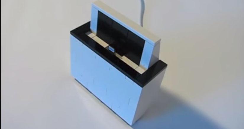 Cómo hacer un Dock para el iPhone 5S con piezas de Lego