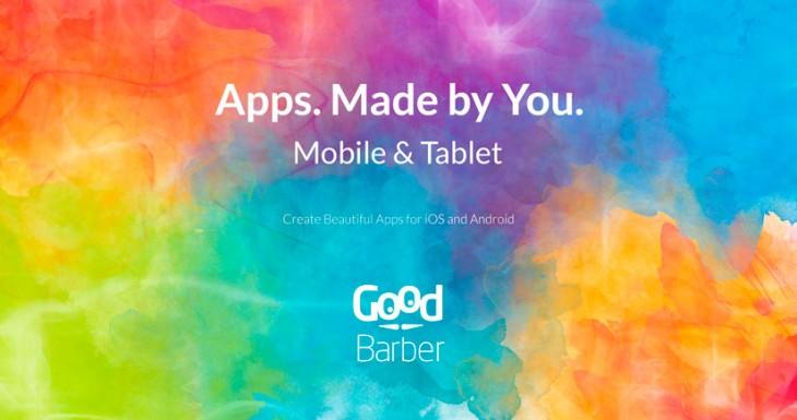 GoodBarber Haz aplicaciones para iPhone y Android sin tener ni idea de programar