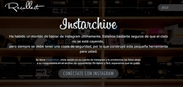 Instarchive