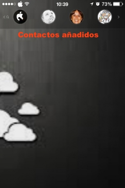 contactos iphone
