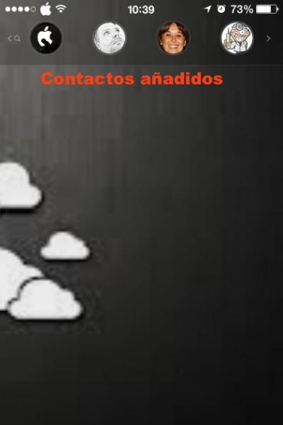 contactos iphone