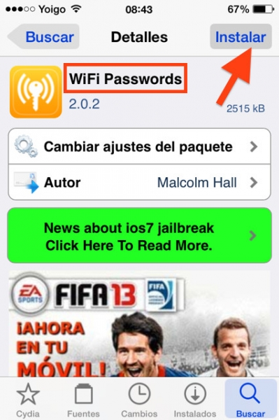 descarga wifi passwords