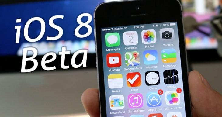 iOS 8 Beta 3: Todas las novedades de esta versión