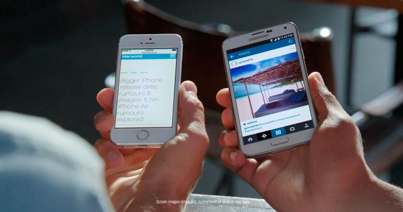 Samsung se cura en salud y ya critica al iPhone 6 en su nuevo anuncio