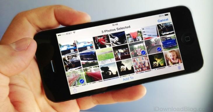 Cómo borrar todas las fotos de una colección en iOS [Abrakadabra 104]