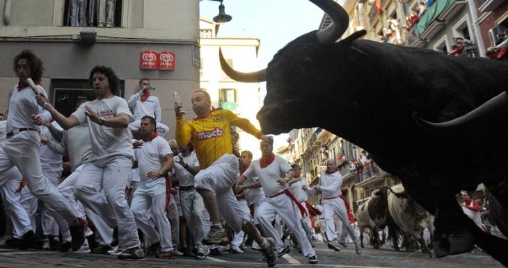 "Vive San Fermín en tu iPhone con la app ""San Fermín Pamplona"""