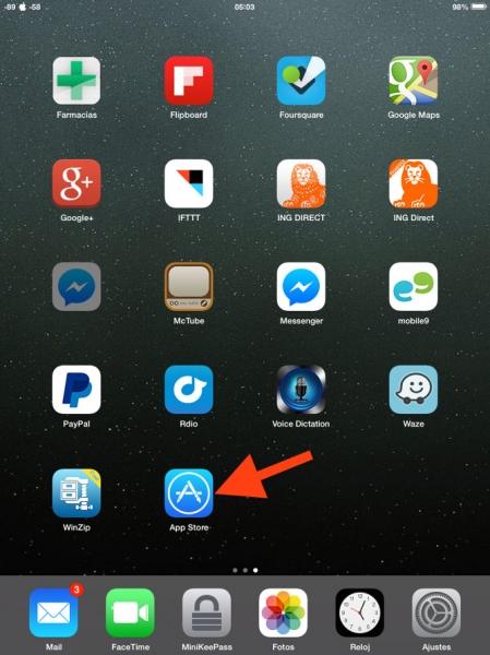 1App Store iPad