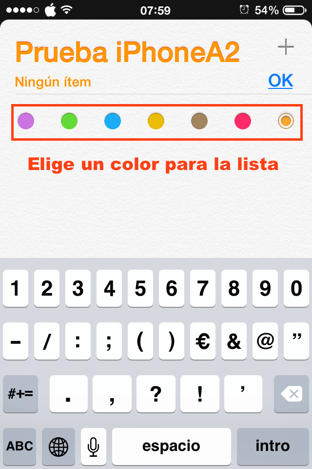 3elegir color lista