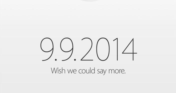 Apple manda las invitaciones para el evento del día 9, ya es oficial