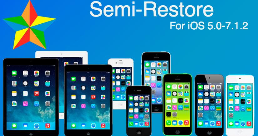 Cómo restaurar un iPhone con iOS 7.1.x sin perder el JailBreak
