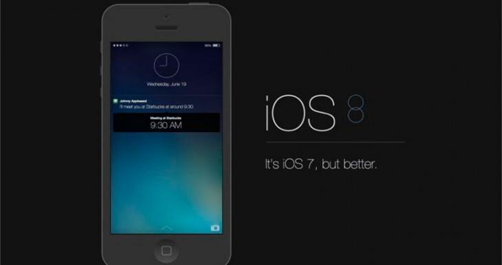 iOS 8 Beta 5 contiene algunos cambios notables [Novedades]