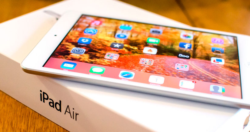 El Próximo iPad Air podría tener una capa anti-reflectante para leer a pleno sol