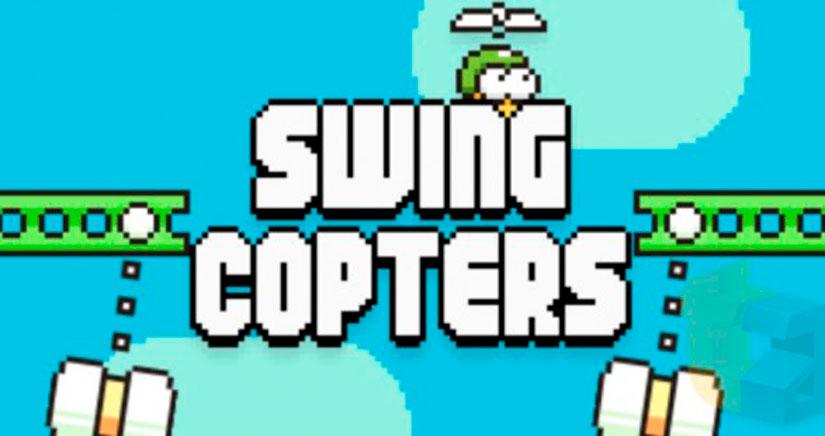 Swing Copters: El nuevo juego del creador de Flappy Bird disponible el 21 de Agosto [Vídeo]
