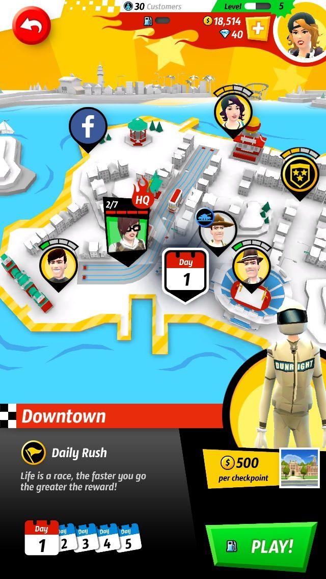 Crazy Taxi: Rush City