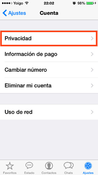 2privacidad whatsapp