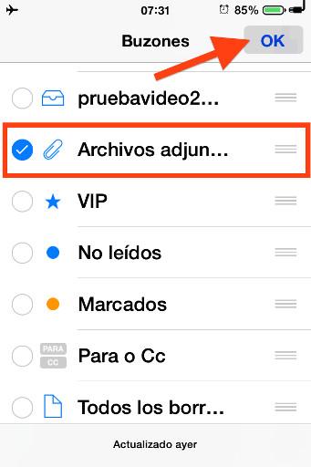 3archivos adjuntos mail iphone