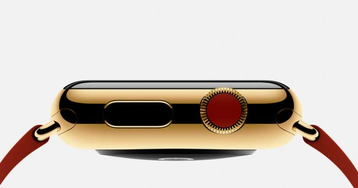 1200 $ por el Apple Watch de oro, la exclusividad se paga….