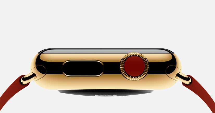 1200 $ por el Apple Watch de oro, la exclusividad se paga….