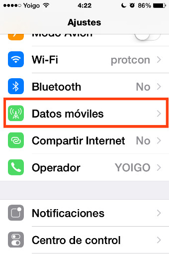 datos moviles