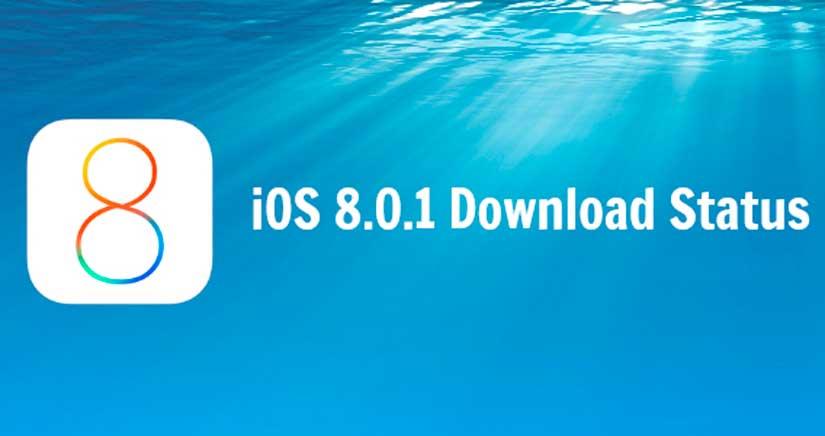 Apple retira iOS 8.0.1 de circulación por fallos importantes