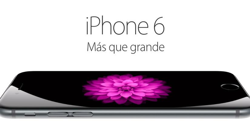 Llega el iPhone 6, así es el nuevo SmartPhone de Apple [Precio, disponibilidad, características…]