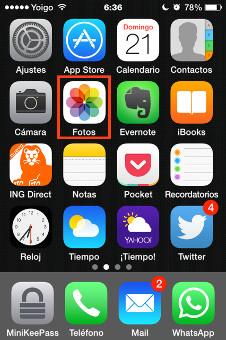 vista general apps