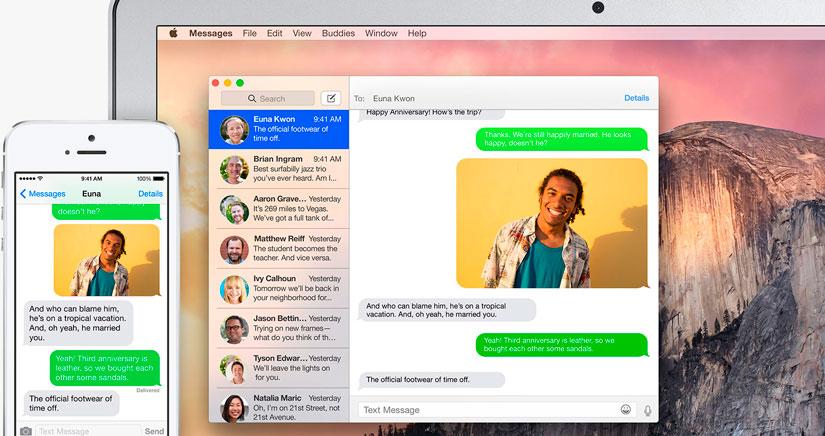 Cómo se activan los mensajes de texto desde tu Mac