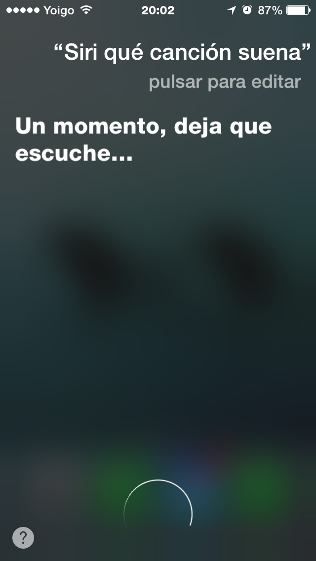 1pregunta a Siri