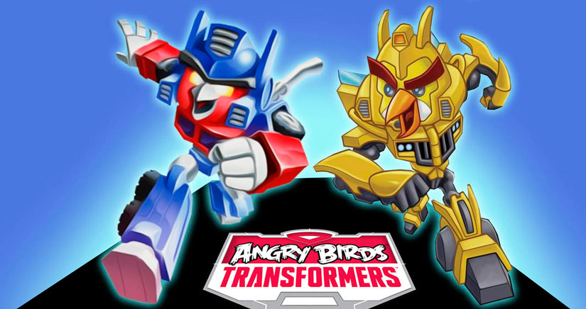 Rovio Lanza Angry Birds Transformers, disponible en todo el mundo