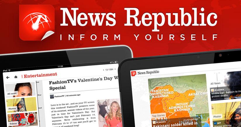 News Republic, el mejor gestor de noticias de la App Store, mira de lo que es capaz…