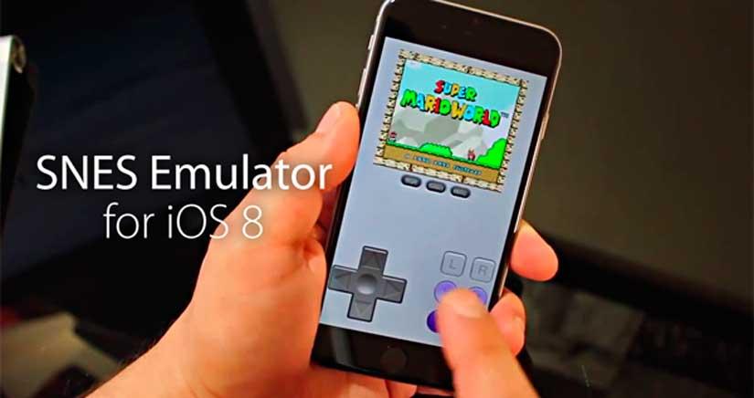 Cómo instalar SiOS, un Emulador de Súper nintendo en cualquier dispositivo con iOS 8