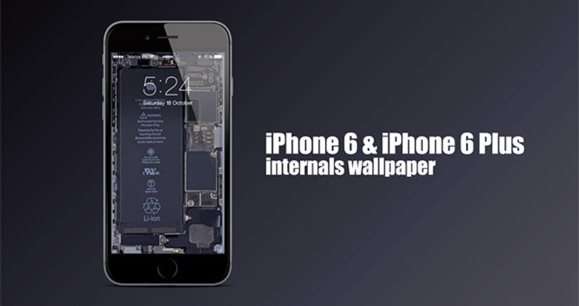 Bájate los fondos de visión rayos-X del iPhone 6 y el iPhone 6 Plus