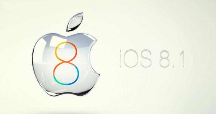 iOS 8.1 estará disponible para descargar el próximo lunes