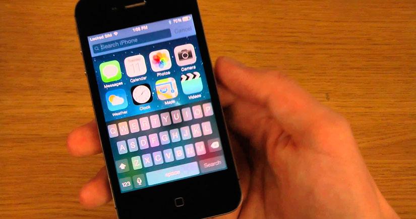 iOS 8.1 en un iPhone 4S, no esperes milagros…