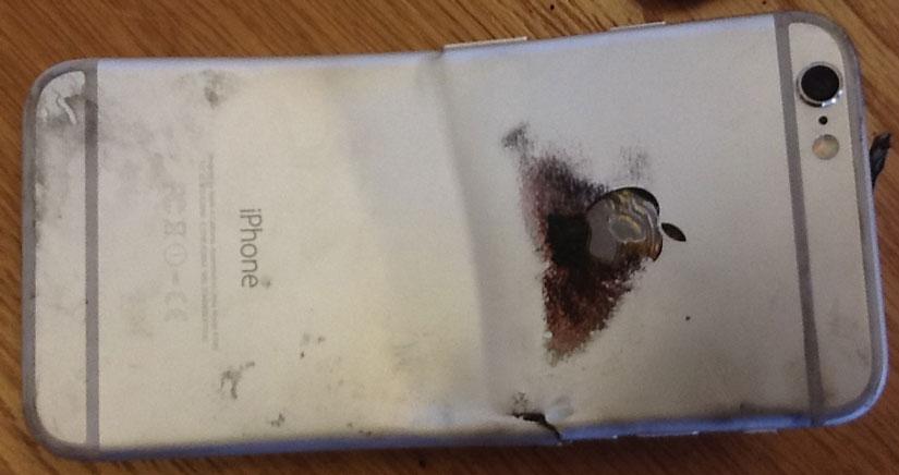 Un iPhone 6 se dobla y se incendia en el bolsillo de su propietario