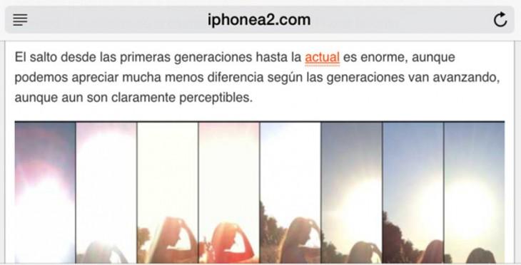 Awesome Screenshot: Haz capturas de pantalla de una página web completa desde el iPhone