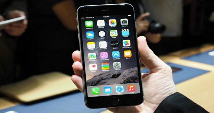 Cómo acceder a las aplicaciones de la parte superior del iPhone 6 Plus