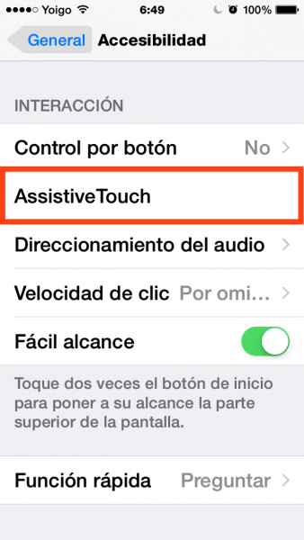 2assistive touch
