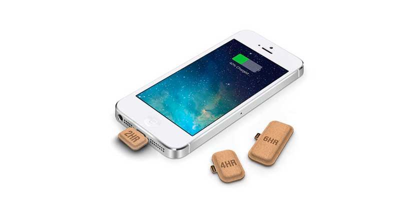 Esta pequeña cápsula de cartón es lo que el médico recetaría a tu iPhone, mira que invento….