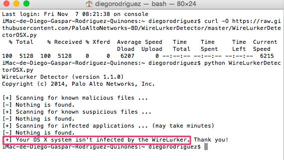 Detectar-WireLurker